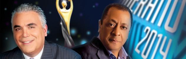 Roberto Cavada y Michael Miguel los conductores de Premios Soberano 2014