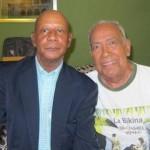 Chobby Capellán junto a Cheo Feliciano