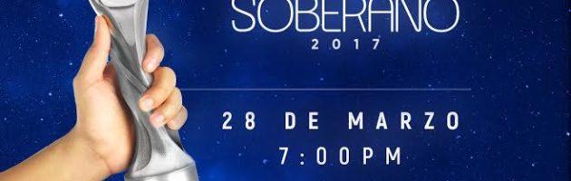 Llegó el día más esperado: Premios Soberano 2017