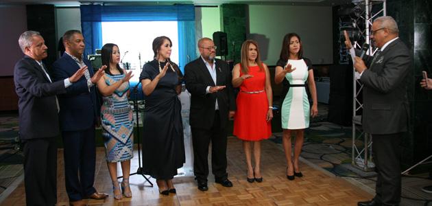 Presidente Acroarte juramenta nueva directiva filial Santiago