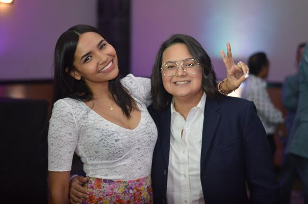 Yarissa y Alfonsia Duarte.