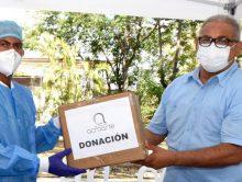 Acroarte realiza donaciones a hogares de ancianos