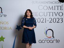Emelyn Baldera asume presidencia de Acroarte; anuncia la cátedra «Johnny Ventura»