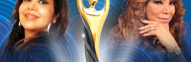 Olga Lara y Vickiana   juntas en Premios Soberano 2015