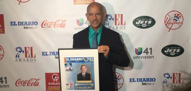 El Diario La Prensa de NY otorga EL Awards 2017 al periodista Adalberto Domínguez