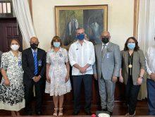 Presidente Luís Abinader recibe Comité Ejecutivo y Consejo de Asesores de Acroarte